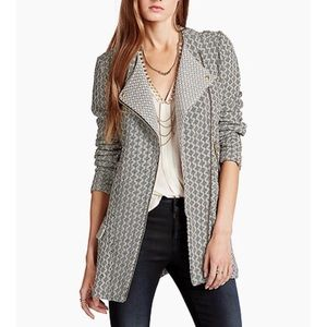 Lucky Brand Marnie Jacquard Knit Active Jacket S
